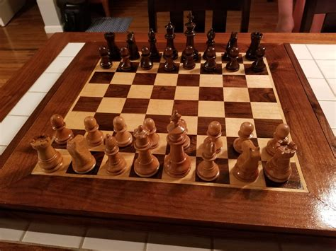 chess board  scbryan  lumberjockscom woodworking