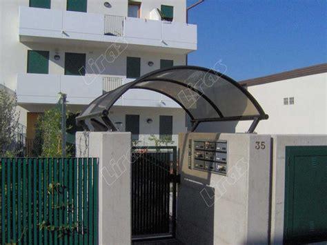 tettoie per porte d ingresso tettoie trasparenti copricancello in plexiglass e