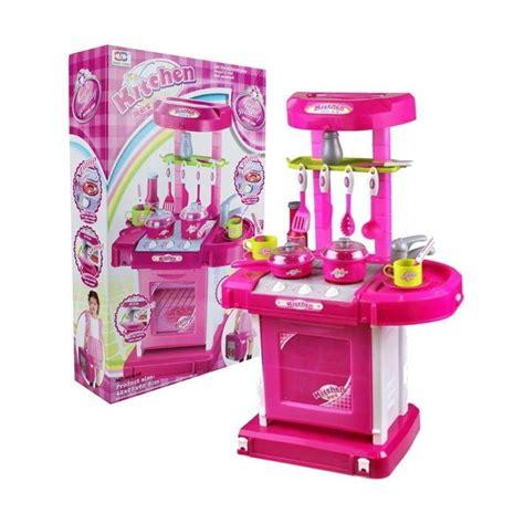 Mainan Masakan Set Pink jual toystoys 0960150089 masak masakan kitchen set koper