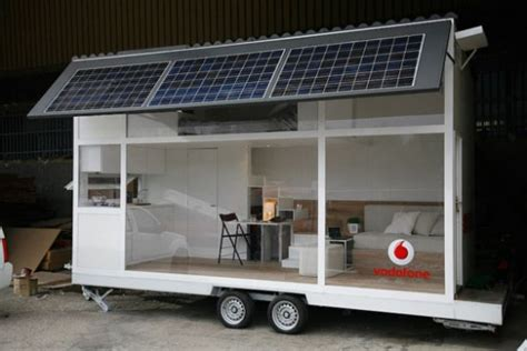 solar mobile home liberates office bound desk jockies