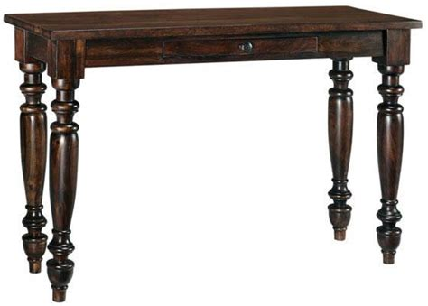 turned leg console table pottery barn hyde turned leg console table copy cat chic