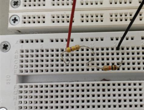 resistor in series breadboard resistor in series on breadboard 28 images ee109 2017 lab 1 basic electronics and robotics