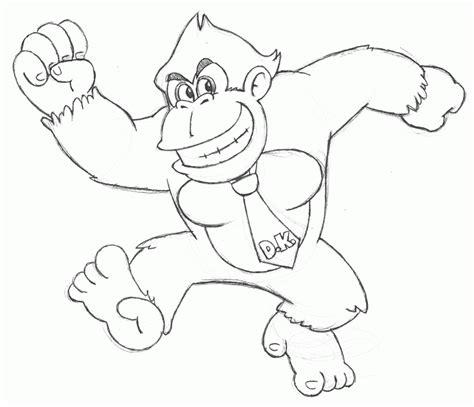 Mario Donkey Kong Colouring Pages Az Coloring Pages Kong Coloring Pages