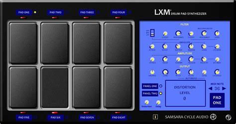 download tutorial drum pads download free drum pad synthesizer plug in lxm by samsara