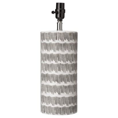 nate berkus l shade nate berkus crosshatch l with cfl black white