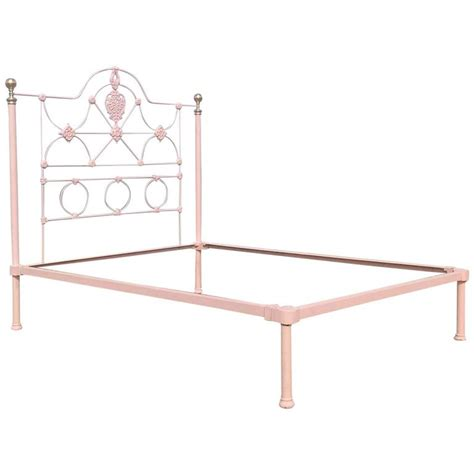 iron platform bed cast iron mid victorian low end platform bed mk85 for