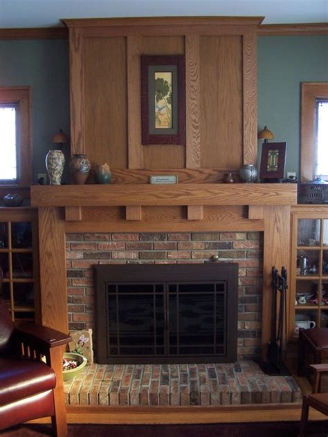 fireplace mantels craftsman fireplace mantels other