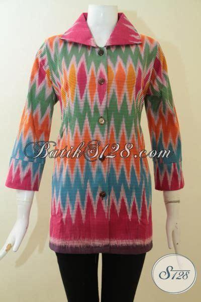 Baju Tenun Wanita Karier Istimewa blus tenun untuk wanita istimewa pakaian batik mewah