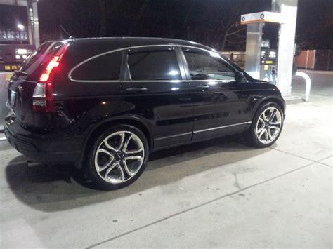 Honda Crv Tire Size by Honda Cr V Custom Wheels Oem Ford Edge 22x Et Tire Size