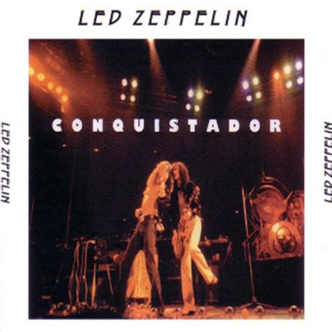 el conquistador vol 2 8467922249 led zeppelin conquistador water tank wt2002097 98 99 100 collectors music reviews