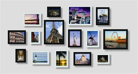 frame design ltd long eaton wall photo frame set of 15pcs home decoration picture