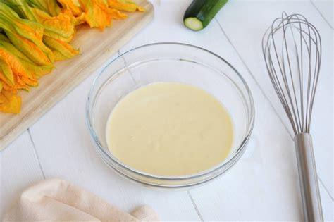pastella fiori di zucca bimby pastella con bimby per le tue fritture mondo mangiare