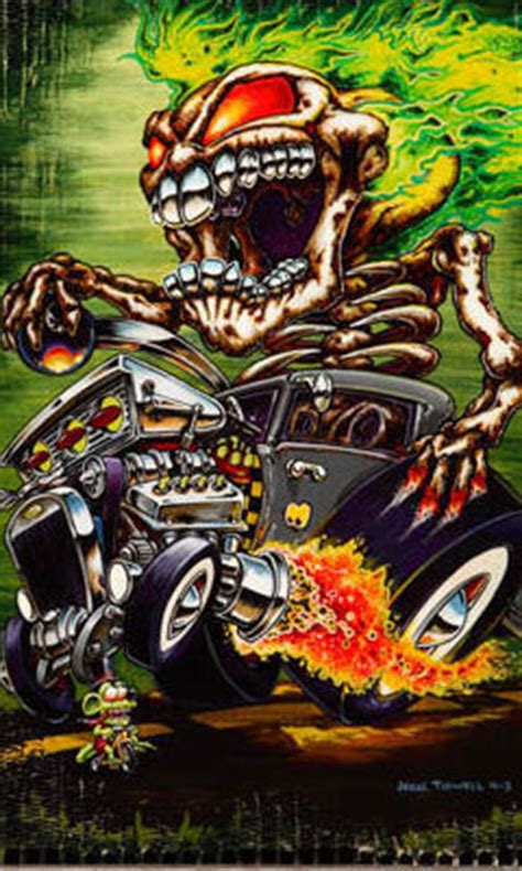 hot themes for myphone free ed hardy tattoo hot rod phone wallpaper by dejasoul