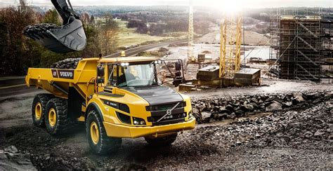 af articulated haulers overview volvo construction equipment