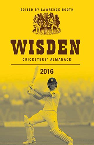 book wisden cricketers almanack 2016 cricket store