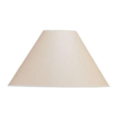 cal lighting 17 in beige vertical basic coolie kraft
