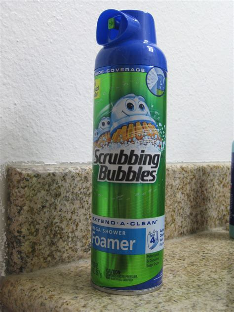 Scrubbing Bubbles Mega Shower Foamer Review by Scrubbing Bubbles Mega Shower Foamer Reviews In Bathroom