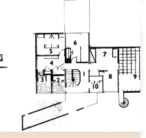 Gropius House Floor Plan House Plans Gropius House Plan