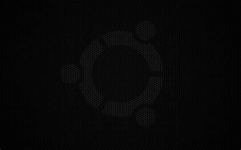 themes hd black ubuntu dark wallpapers wallpaper cave