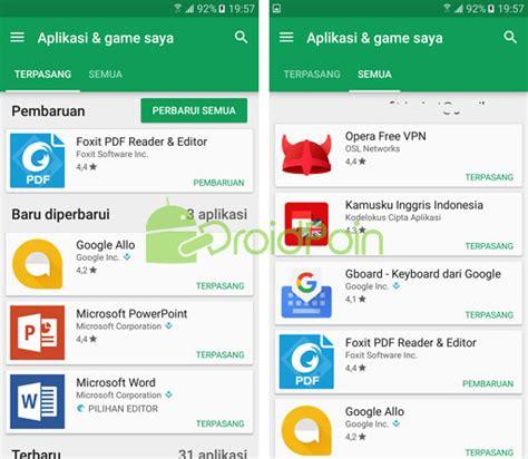 Play Store My Apps Tilan Quot My Apps Quot Di Play Store Kini Lebih