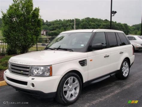 land rover range rover sport white 2006 land rover range rover sport photos informations