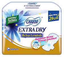 Charm Fit Wing 35cm 12p charm fit feminine care informasi produk