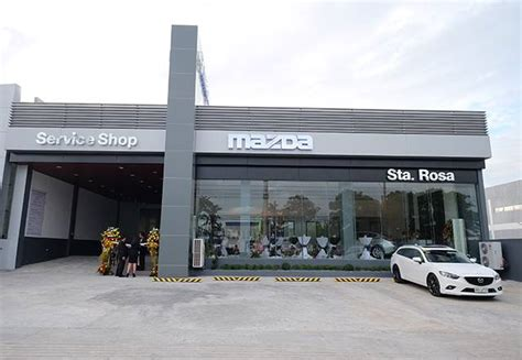 santa mazda service mazda ph opens new santa rosa dealership auto industry news