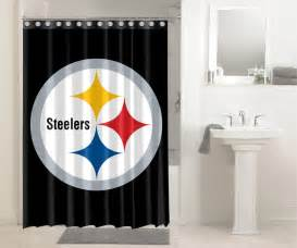 Pittsburgh Steelers Shower Curtain Pittsburgh Steelers Nfl Football 531 Shower Curtain
