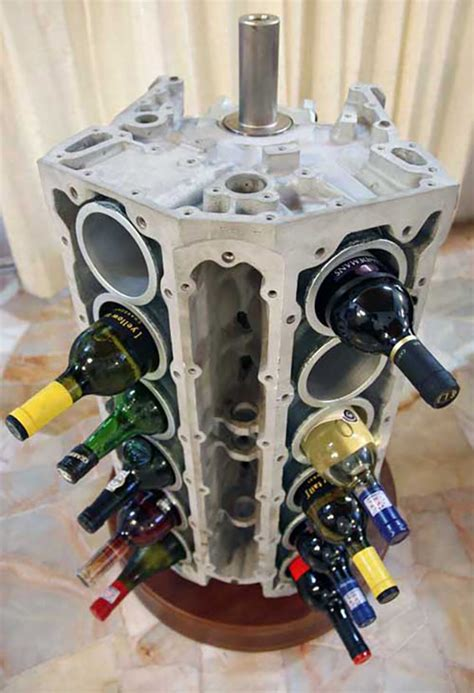Handmade Engine - 23 awesome diys made from upcycled car parts diy