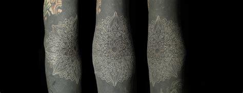 Tinta Tato Black white ink tattoos scene360