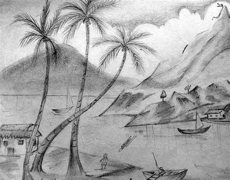 Pencil Drawings Nature Pencil Drawings Painting Sketches For