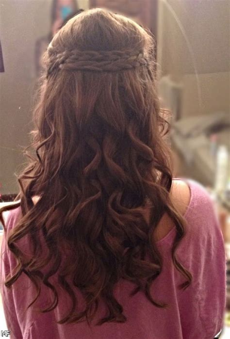 prom hairstyles side curls with braid 25 prom hairstyles for long hair braid