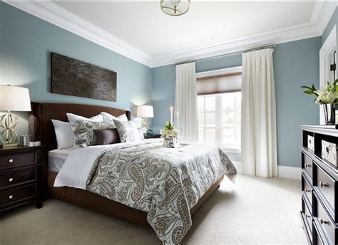 blue paint colors for master bedroom family home with sophisticated interiors home bunch