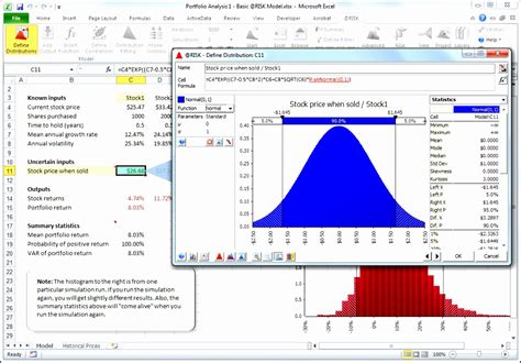 9 Monte Carlo Simulation Excel Template Exceltemplates Exceltemplates Monte Carlo Simulation Excel Template
