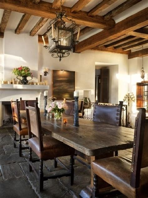 rustic dining rooms spanish style my future dining room mexico