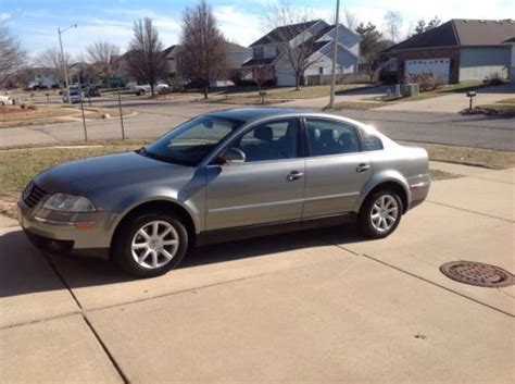 how make cars 2004 volkswagen passat electronic valve timing find used 2004 vw passat gls 1 8 turbo automatic mpg 21 30 92000 miles in springfield illinois