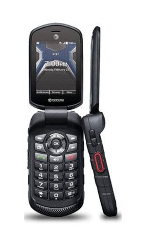 kyocera duraxe dura xe  black rugged flip phone