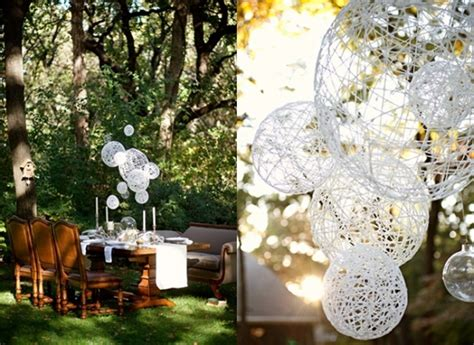 Handmade Wedding Decor - diy outdoor wedding decorations ideas wedding and bridal