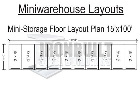 storage building floor plans mini storage buildings self storage buildings free floor