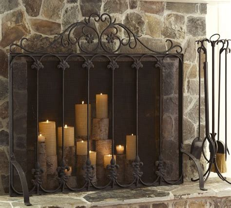 want this fireplace screen for the family room fireplace