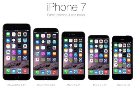 is the iphone iphone 7 rumours