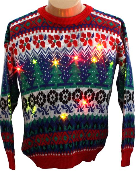 top 28 cheap christmas sweaters with lights bear