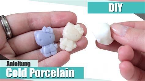 Lufttrocknende Modelliermasse Selber Machen by Diy Cold Porcelain Tutorial Modelliermasse Selber
