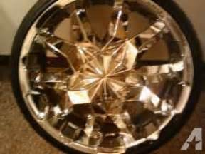 Truck Rims Columbus Ohio 22 Quot Chrome Cabo Rims And Tires Columbus For Sale In