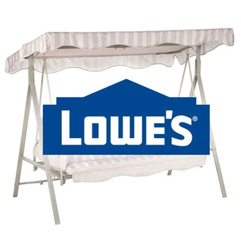 lowes swing set parts replacement swing canopy cover garden winds