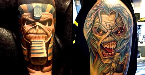 iron maiden eddie tattoo designs 19 killer eddie tattoos for iron maiden fans tattoodo