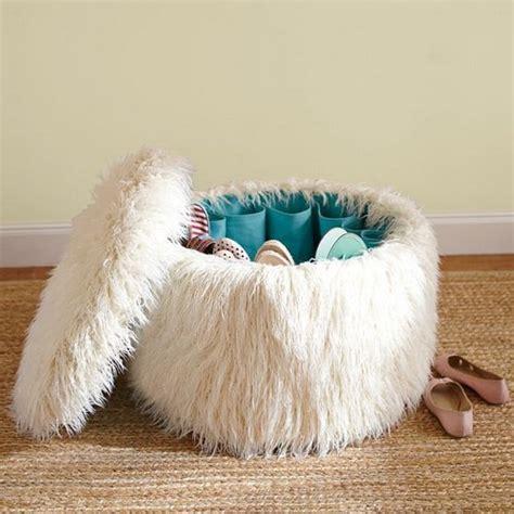 Fuzzy White Ottoman Fuzzy White Ottoman White Fuzzy Ottoman Home Decorating Ideas Fuzzy White Ottoman Footstool