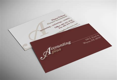 Free Template Business Cards For Bookkeeping Services by Accounting Plus Business Card Accounting Plus Of Wayne