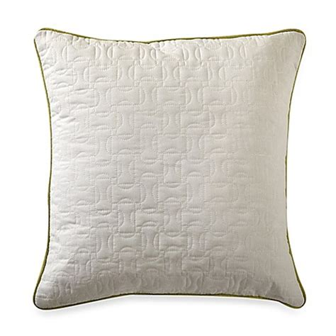 nautica bed pillows buy nautica 174 west bay quilted square throw pillow from bed bath beyond