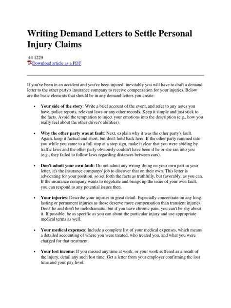 Car Insurance Personal Injury 2 by Lovely How After A Demand Letter Does Settlement Take
